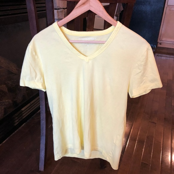 Banana Republic Other - Banana Republic Soft Wash V- Neck Cotton Tee